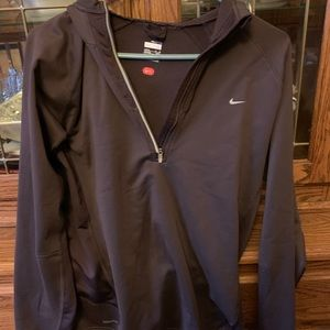 Nike jacket, soft and beautiful material!